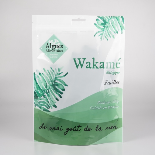 Algue Wakame feuilles 200 g