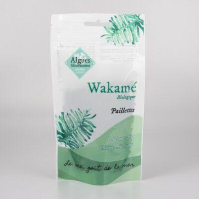 Algue Wakamé undaria en paillettes 50 g