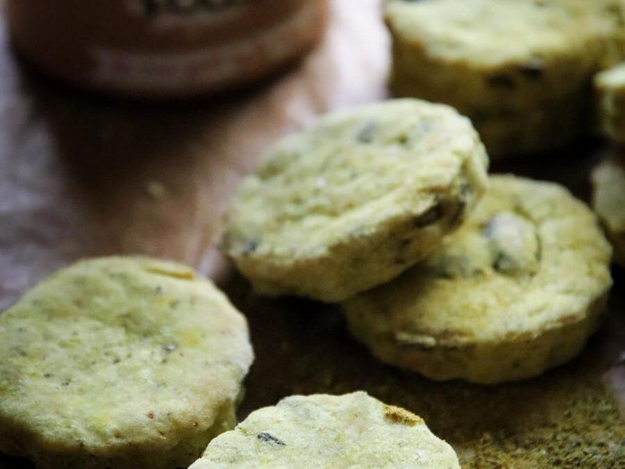 Sablés apéritifs aux Algues Folles l'Antillais